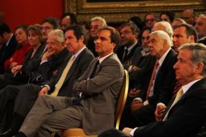 Ministro de Cultura e invitados