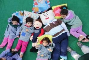 Jorge con niños