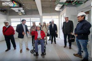 Alcalde junto a concejales recorren instalaciones del nuevo SAR